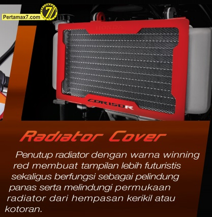 cover radiator all new honda CBR150R