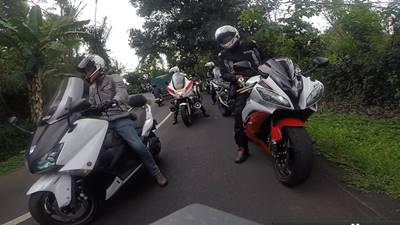 Turing Yamaha Revs CBU Indonesia (YRCI) di Bali (2)