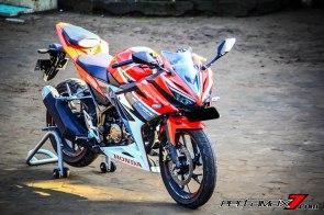 All New Honda CBR150R 2016 Warna Merah Racing Red 10 Pertamax7.com