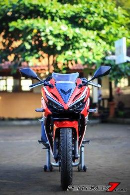 All New Honda CBR150R 2016 Warna Merah Racing Red 71 Pertamax7.com
