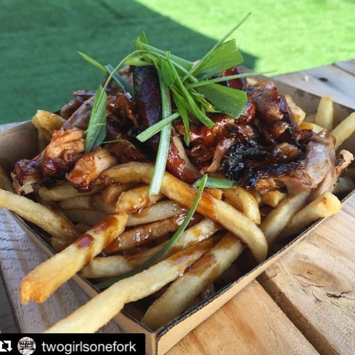 Bao Stop Peking Duck Fries @twogirlsonefork