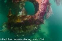 The Rudder of the Meldon Wreck Mull