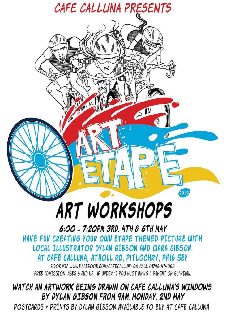 Dylan Gibson Art Workshops - Art Etape