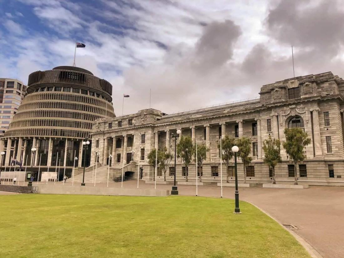 Parliament Buildings Wellington