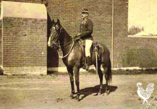 • The only known photo of Jack Kelly—policeman, circus performer, Hollywoodland stuntsman and Argentinian horse trainer.