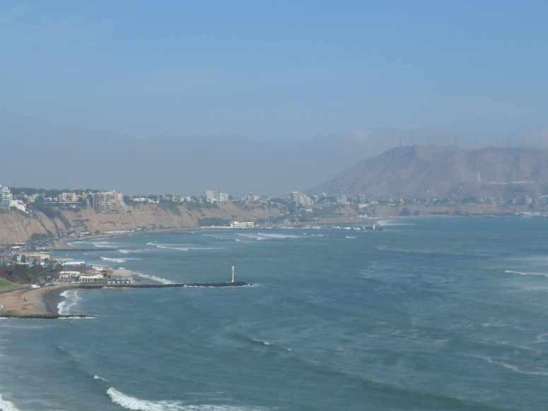 Coast line Lima/peru