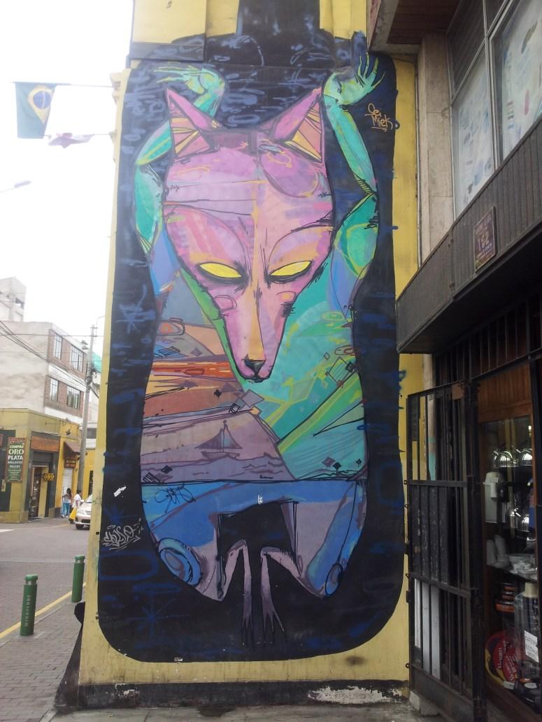 Streetart Lima/Miraflores