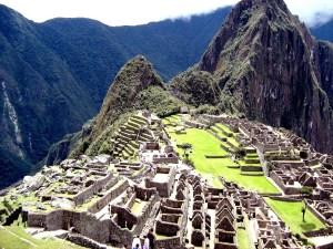 Machu Picchu, Inkazitadelle Machu Picchu