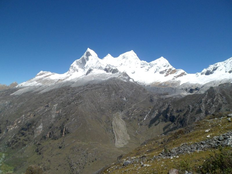 Trekking in den peruanischen Anden – die Cordillera Blanca