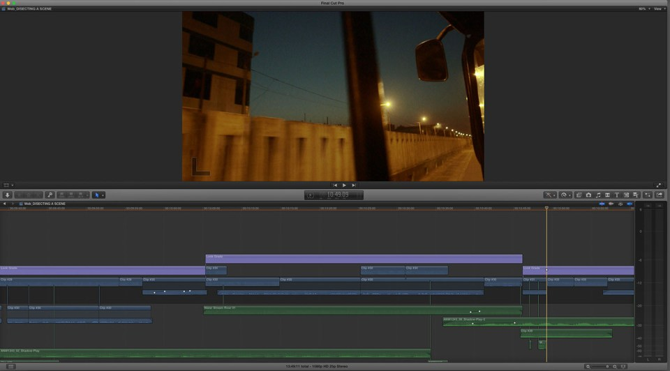 Edit sequence