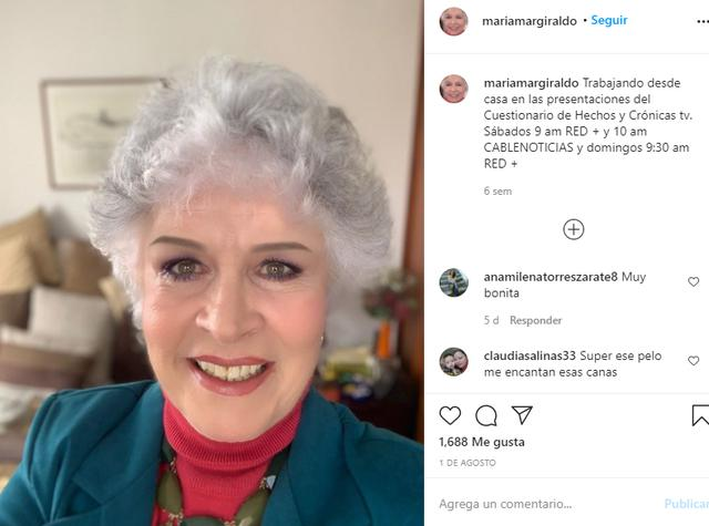 María Giraldo confessed that she had been mired in drugs during her adolescence (Photo: Instagram)