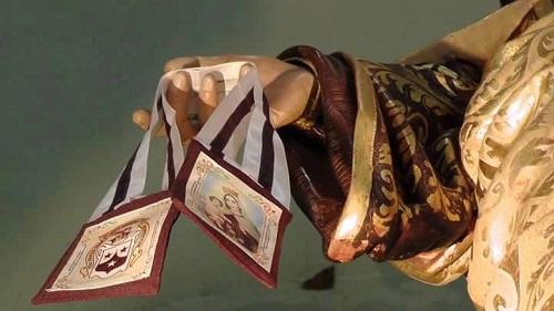 Resultado de imagen de Escapulario del Carmen