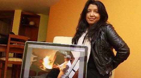 Patricia Pérez, directora del documental Mistura, The power of Food. (Foto: Andina)