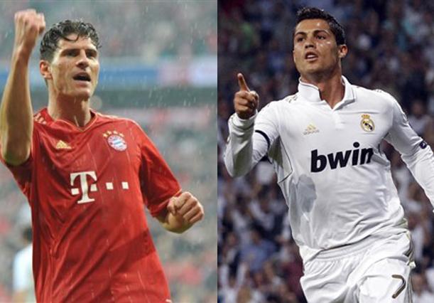 Mario Gomez vs Cristiano Ronaldo