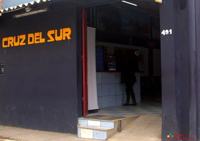 Agencia de Cruz del Sur en Huaraz.