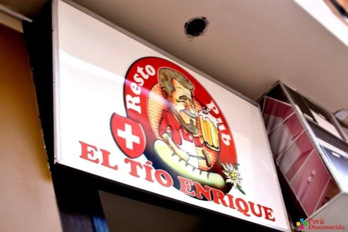 Restaurante El Tío Enrique-Huaraz