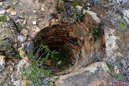Chullpas en forma circular de Chuchunpunta