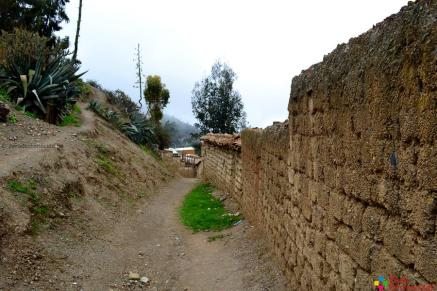 Una calle antigua de la provincia de Aija