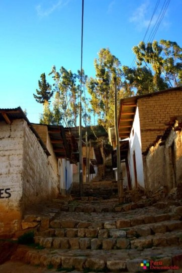 Calles de la provincia de Aija