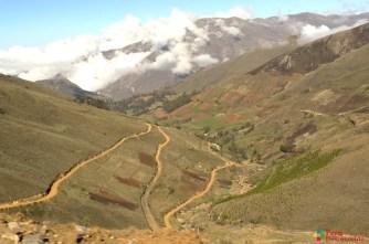 Ruta Recuay-Aija