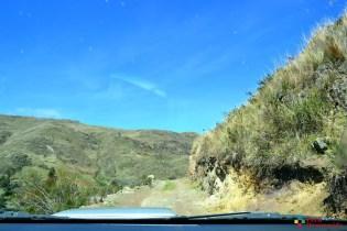 Carretera Aija-Callán Punta