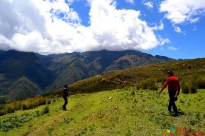 Camino a la Laguna Patarcocha en Chacas