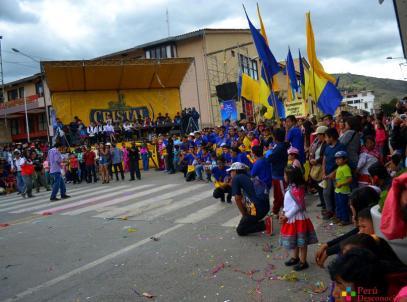 Rompecalle Carnaval Huaraz 2017