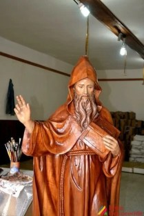 Trabajos de los artesanos Don Bosco en Chacas