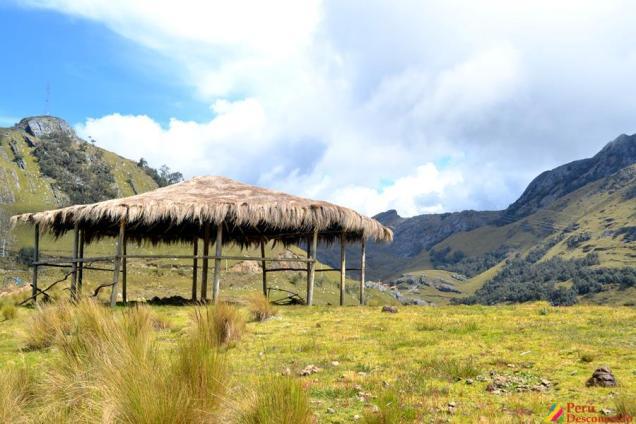 Chozas en San Luis- Ancash
