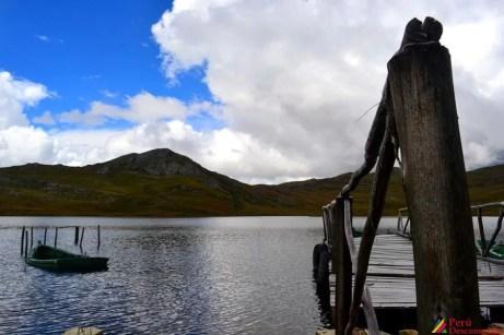 Muelle de la Laguna de Huachucocha