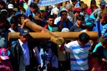 Peregrinación a Pomallucay en San Luis