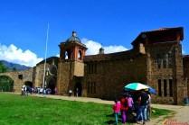 Parte frontal del Santuario de Pomallucay.