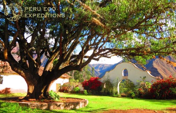 Hacienda Huayoccari Entrance