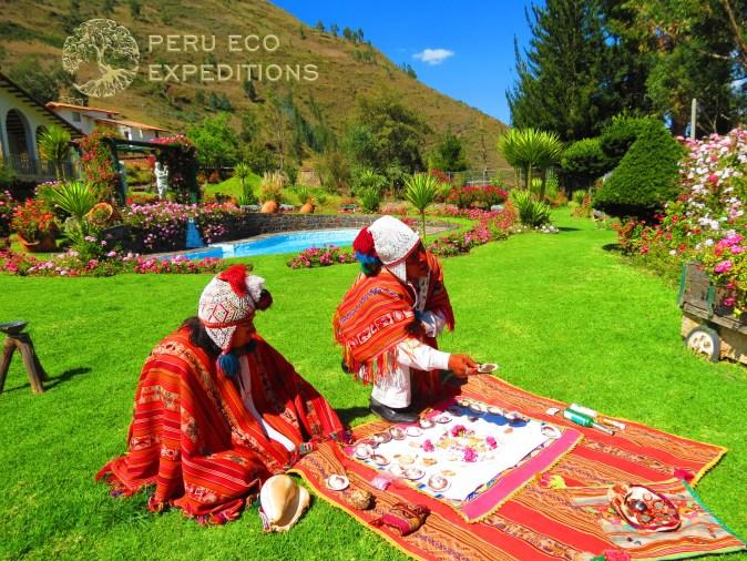 Despacho Ceremony at Villa Tipon - Peru Eco Expeditions