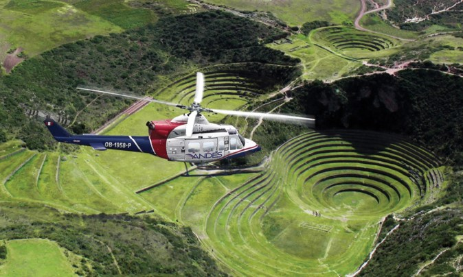 Helicopter Tours Cusco - Peru Eco Expeditions