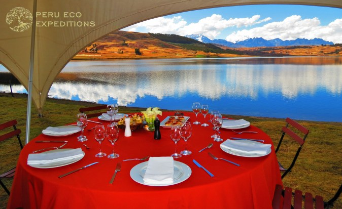 Luxury Choquequirao Trek - Gourmet Huaypo Lunch - Peru Eco Expeditions