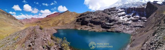 Ausangate Cocha Panorama - Peru Eco Expeditions