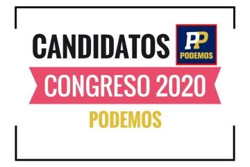 Candidatos al Congreso Podemos Perú 2020