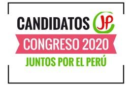 Candidatos al Congreso Juntos por el Perú 2020