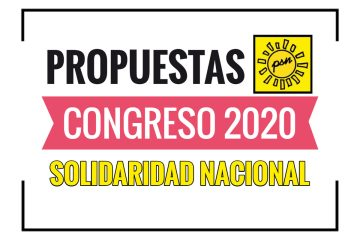 Propuestas de Solidaridad Nacional