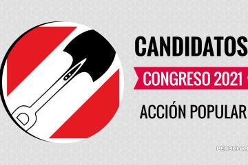 Candidatos al congreso 2021 Acción Popular