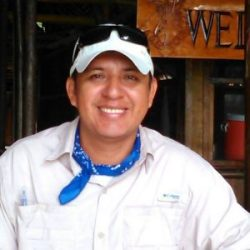 Photo of Edson Galan, lead birding guide for Amazonia Expeditions
