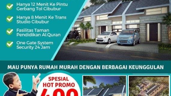 Rumah Syariah Tanpa Riba | Green Village 10 Cibubur