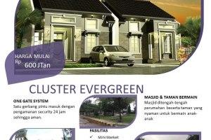 Rumah Syariah Cileungsi Cluster Evergreen