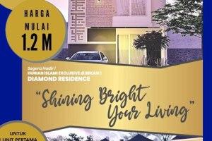 Diamond Residence | Rumah Cluster Mewah di Kota Bekasi