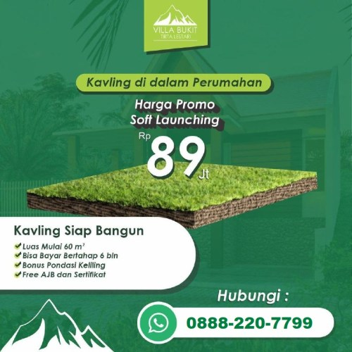 Kavling Villa Bukit Tirta Lestari