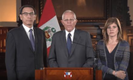 martin vizcarra Martín Vizcarra, left of former President Pedro Pablo Kuczynski, is now next in line to assume Peru's presidency.