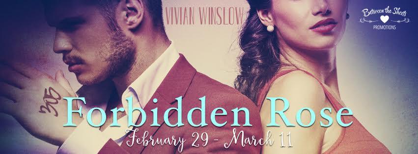 FORBIDDEN ROSE by Vivian Winslow ♥ BLOG TOUR