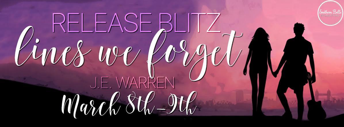 J.E. Warren - Lines We Forget - Release Blitz
