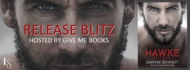 Release Blitz for Hawke by Sawyer Bennett